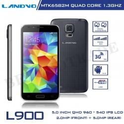 Original LANDVO L900 Android Phones MTK6582M Quad Core 1G RAM 4G ROM 5MP Camera 8.4mm Super Slim Cell Phones