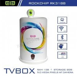 Original Elephone Brand Smart TV Box Quad Core 1.6GHZ RK3188 1G RAM 8G ROM Android 4.4 TV Box Support Bluetooth HDMI Port