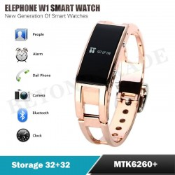 New Original Elephone W1 Smart Bluetooth Watch Charged Long standby Balance Energy Smart Bracelet for Android Cell Phones Watch