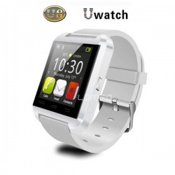 Bluetooth Smart Watch U8 U Watch Wireless Smartwatch for iPhone Samsung HTC LG Android Cell Phones - White