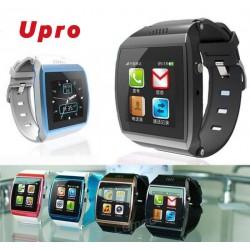 Bluetooth Smart Watch Phone U Watch Upro SIM Card Support/ Sync Phone Smartwatch w/ Camera Passometer Anti-lost for