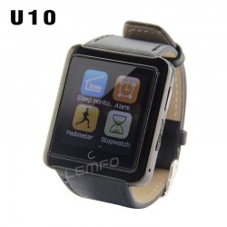 Bluetooth Smart Watch U10 WristWatch U Smartwatch for iPhone 6 5 5S 4 4S Samsung S5 S4 Note 4 HTC Android Phone