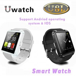 Bluetooth Smart Watch U8L U WristWatch Sync Phone Call Message for iPhone 6/5S IOS Samsung S5/Note 4 HTC Android