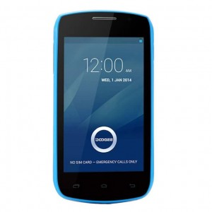 """Buy DOOGEE Collo3 DG110 4.0"""" IPS Android 4.2.2 OS 512MB+4GB MTK6572 Dual Core 1.0GHz 3G GPS 5.0MP Camera Blue online"""