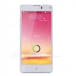 "ZTE Nubia Z5S Mini 3G Quad Core Snapdragon APQ8064 1.7Ghz Android 4.2 OS 4.7"" IPS 2GB RAM 13.0MP Dual Camera GPS Phone White"