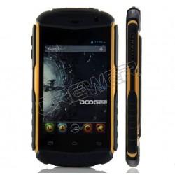 "DOOGEE TAITANS DG150 3.5"" IPS HVGA Screen 512MB+4GB MTK6572 Dual Core Phone 1.0GHz Android 4.2 GPS 3G Dustproof Black+Orange"