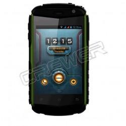 "DOOGEE TAITANS DG150 3.5"" IPS HVGA Screen MTK6572 Dual Core Android 4.2 512MB+4GB GPS 3G Dustproof Black+Green"