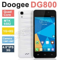 "Original DOOGEE VALENCIA DG800 MTK6582 Quad Core 1.3GHz 4.5"" IPS Screen 1GB RAM 8GB ROM Android 4.4.2 OS 13.0MP"