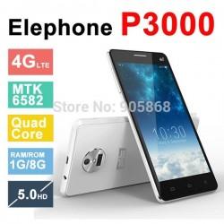 Elephone P3000 P3000S 4G LTE 3G WCDMA 5.0 inch HD 1280*720 Quad Core 1GB RAM 8GB ROM Android 4.4 OTG BT GPS
