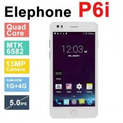 In Stock Original Elephone P6i MTK6582 Quad Core Android 4.4 5.0 inch 960x540 IPS 1GB RAM 4GB ROM 13MP OTG Phone