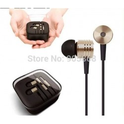New Original Gold XIAOMI 2nd Piston Earphone 2 II Headphone Headset Earbud with Remote & Mic For MI4 MI3 MI2 MI2S MI2A Mi1 Phone