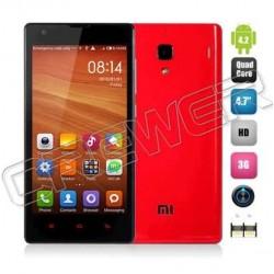 "xiaomi hongmi red rice red mi 1s phone wcdma dual cards Phone Qualcomm 400 MSM8228 quad core 1.6Ghz 1GB+8GB 4.7"""