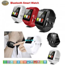 New 2015 U8 Smartwatch Bluetooth Smart Watch WristWatch Wrist Wrap Watch Handsfree For iphone 6 5 5S Samsung Phone Mate Android