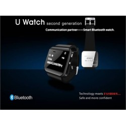 Newest U Watch 2 Smartwatch High Quality Bluetooth Smart Watch Smartwatches Sync Phonebook Call Alarm For iPhone Samsung HTC New