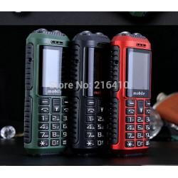 1.8inch 6800mAh power bank dual band A8 LED flashlight long standby Russian keyboard