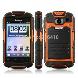 3.5 Inch Discovery V5+ Waterproof Shockproof Smart phone Android 4.2 DUAL SIM Bluetooth 3g ornage yellow black