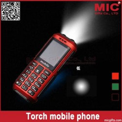 "1.5""Russian keyboard strong LED torch Large speaker long standby power bank cellphone N8 P320"