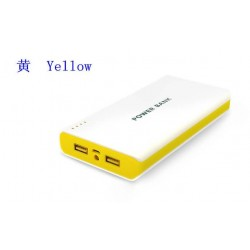 1 For iphone 5S Samsung S3 S4 S5 Note 3 ipad 20000mAh 20KmAh Portable External Power Bank Battery Charger 2 USB Port