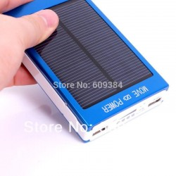 1 Portable Solar Mobile Charger 100000mAh External Power Bank Battery Charger 2 USB Port For Samsung iphone Tablet Smart phone