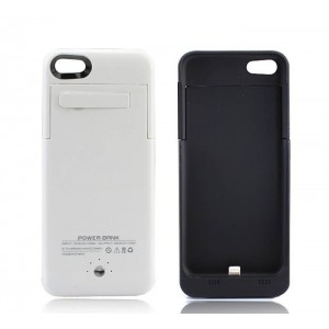 Buy 2500mAh External Battery Power Bank Case Cover For Apple iPhone 5 5S 5C online