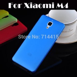 0.3mm Ultra Thin Top Quality PC Case Back Cover for xiaomi m4 Mi4 Phone Cases ing