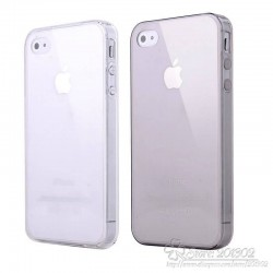 0.3mm Ultra Thin TPU for iPhone 4 Case phone cases with Anti Dust Stopper Slim Mpbile Phone bags cases