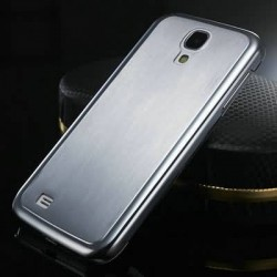 0.5MM Thin Brushed Aluminum Hard case for Samsung Galaxy S4 i9500 SIV Phone Bag Luxury, Metal Mesh Back Cover for Galaxy SIV