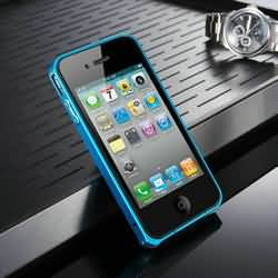 0.7mm Ultra-thin Bumper Case for iPhone4s Metal Frame Bumper for iPhone 4 High quality Hard Metal Material cell phone case