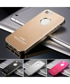 Ultrathin Matte Aluminum Metal Hard Case for IPhone 5 5S 5G Bag Luxury Back Cover, Free Screen Protector