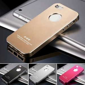 Buy Ultrathin Matte Aluminum Metal Hard Case for IPhone 5 5S 5G Bag Luxury Back Cover, Free Screen Protector online