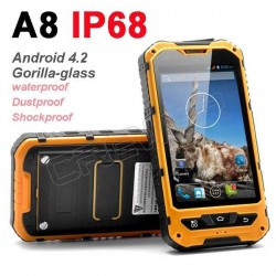 0riginal MTK6572 Dual Core Android 4.2 Gorilla glass A8 IP68 rugged Waterproof phone GPS Dustproof Shockproof cellphone 3G
