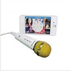 1 pcs fast and for Brand New Wired microphone for iphone4 /5 for ipad and for Android phones for sing lovers