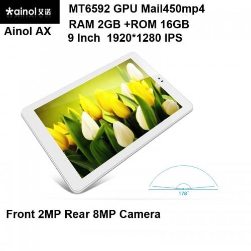 Buy Ainol AX MT6592 GPU Mail450mp4 Octa Core Tablet phone 9