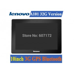 Buy 10 inch Lenovo A101 Tablets Internal 3G GPS Bluetooth RAM 2GB HDD 32GB SIM Call Android 4.2 Camera 5.0MP ! online