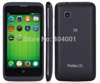 "zte v956 phone quad core 4.5 "" 854x480 screen Qualcomm MSM8625Q ram512 rom4gb 5.0 MP bluetooth LN"