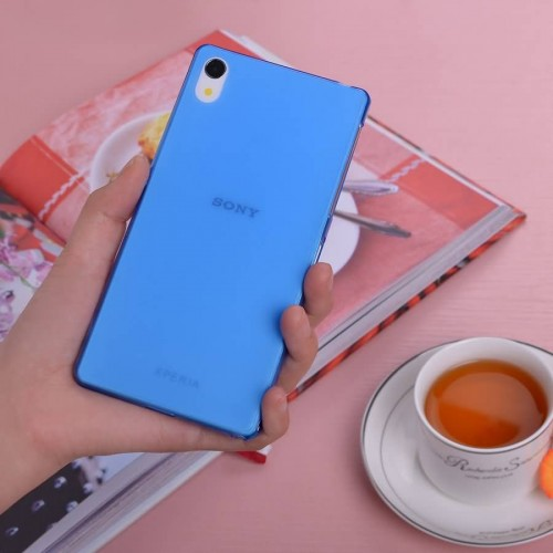 the best attitude 31d14 6222a Buy 10pcs 0.3mm Ultra-thin matte shell case For SONY XPERIA Z2 cover ...