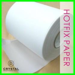 1 feet x 9.5 Inch Hot-fix Transfer Film Mylar Tape Paper Hotfix Rhinestones Iron On Applicator Crystal Nail design DIY Tools