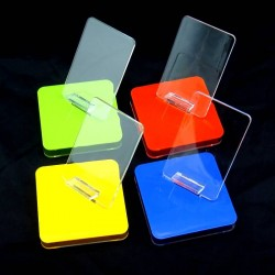 10xpcs /lot Mobile Cell Phone MP3 MP4 Display Stand Sale Show Holder Rack