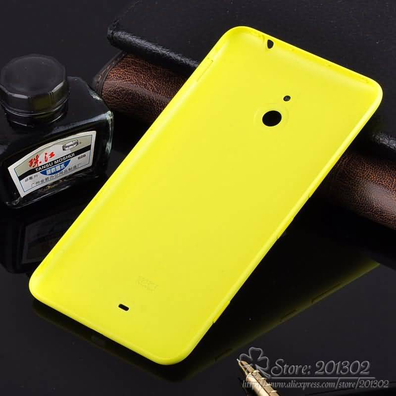 100% Original Genuine Plastic Battery Door for Nokia Lumia 1320 Cell Phone Back Cover Battery Housing Replacement + side Button